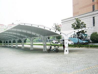 电动自行车膜结构报价,电动自行车钢结构工程施工