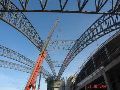 钢结构吊装