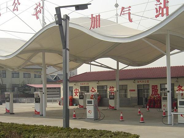 加油站膜结构价格,加油站膜结构设计施工单位
