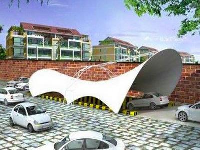 地下通道入口膜结构,车辆出入口膜结构,地下车库出入口膜结构