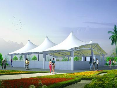 广场膜结构价格,广场膜结构设计施工单位